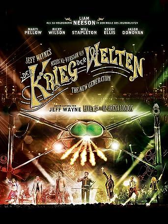 Jeff Waynes Musical Version von 'Der Krieg der Welten' - The New Generation