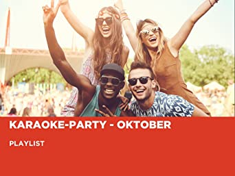 Karaoke-Party - Oktober