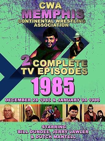 CWA Memphis Wrestling 2 Complete TV Episodes 1985 [OV]