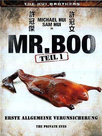 Mr. Boo 1 - Erste allgemeine Verunsicherung