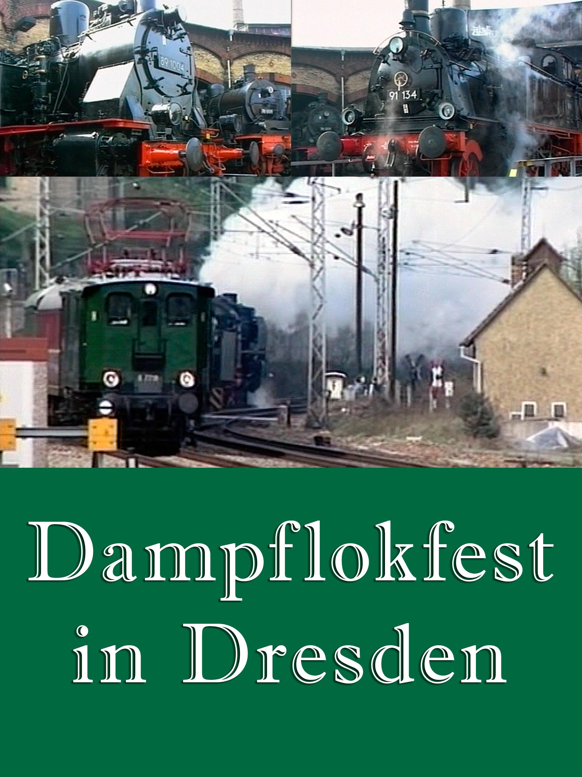 Dampflokfest in Dresden