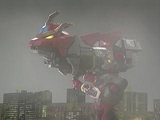 電光超人グリッドマン 第18話 竜の伝説 裂刀怪獣メカバギラ登場