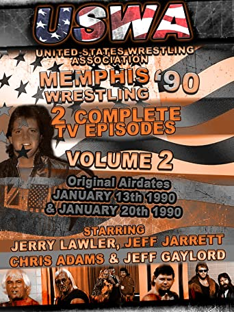 USWA Memphis Wrestling 2 TV Episodes 1990 Vol 2 [OV]