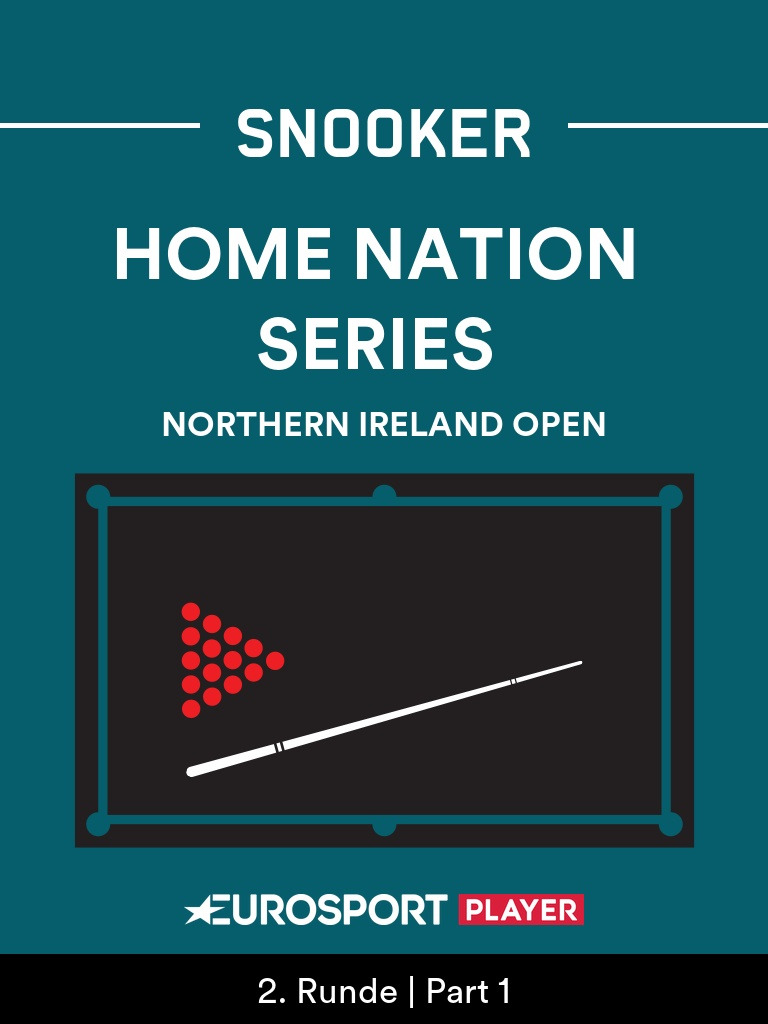 Snooker: Northern Ireland Open in Milton Keynes (ENG)