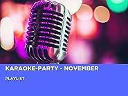 Karaoke-Party - November