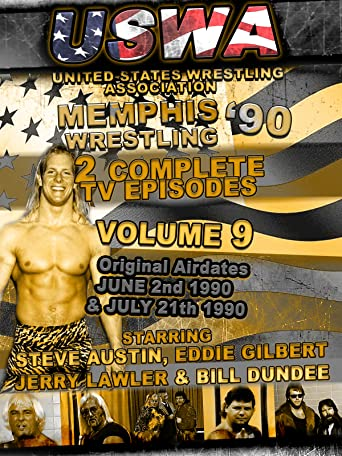 USWA Memphis Wrestling 2 TV Episodes 1990 Vol 9 [OV]