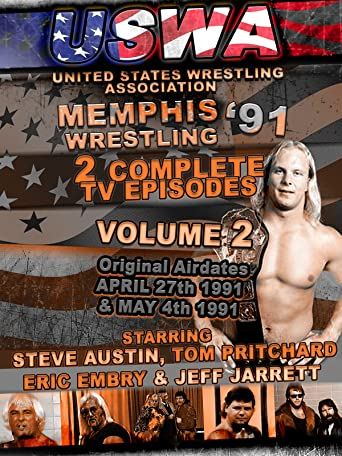 USWA Memphis Wrestling 2 TV Episodes 1991 Vol 2 [OV]