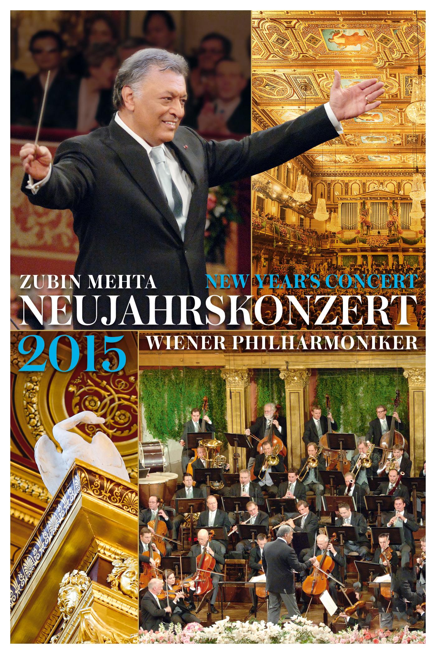 Zubin Mehta & Wiener Philharmoniker: Neujahrskonzert 2015 / New Year's Concert 2015