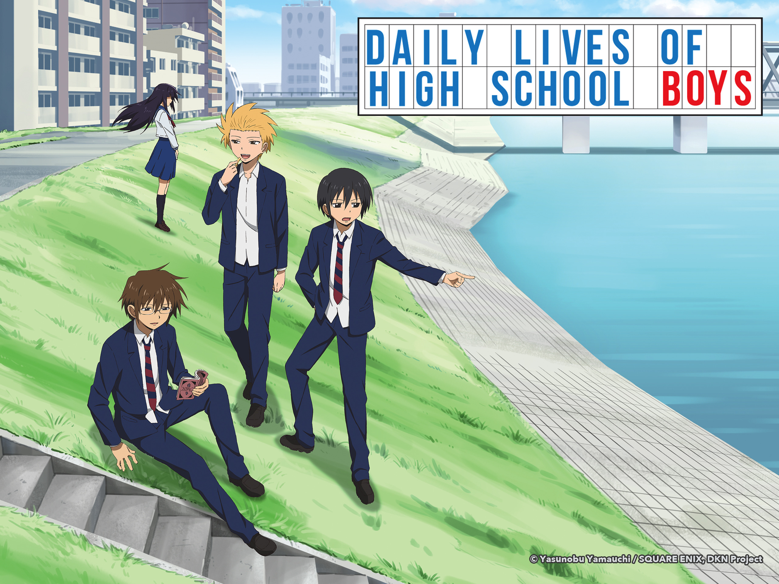Watch Daily Lives of High School Boys Season 1 Episode 1: Daily