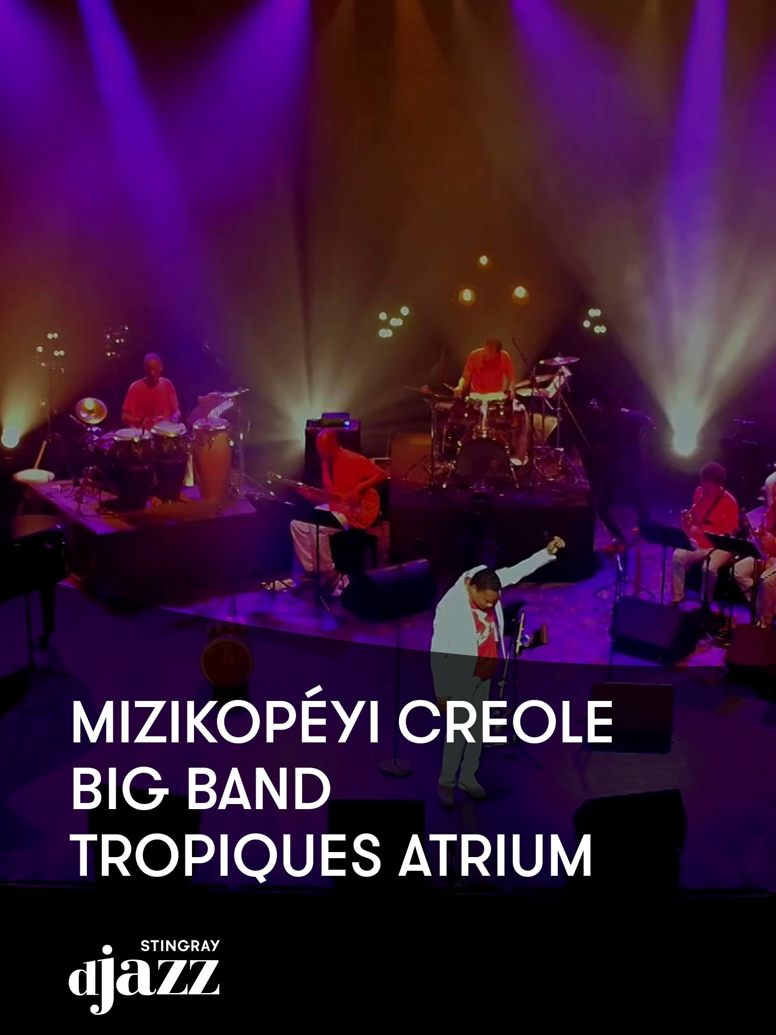 Mizikopéyi Creole Big Band - Tropiques Atrium