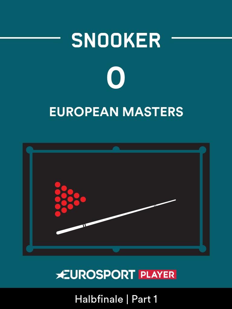 Snooker:European Masters 2020 in Milton Keynes (ENG)