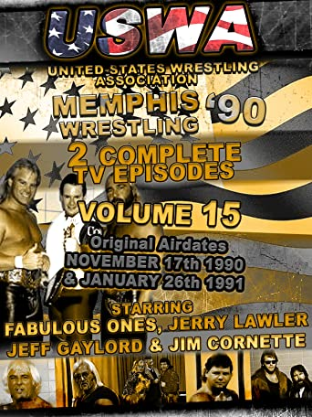USWA Memphis Wrestling 2 TV Episodes 1990 Vol 15 [OV]