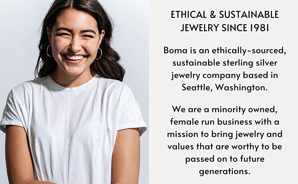 Boma Jewelry Ethical amp; Sustainable Jewelry