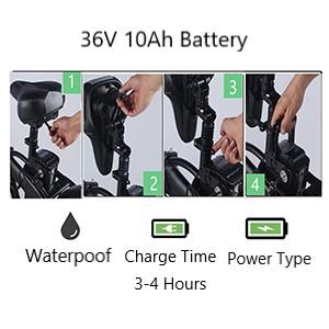 Electric bikes Battery