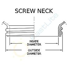Screw Neck Dimensions