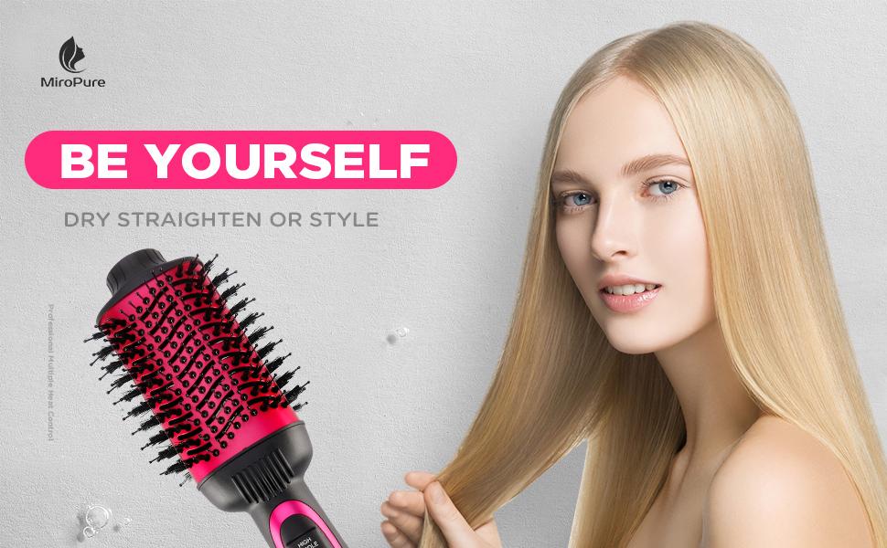 hot air brush,straightening brush