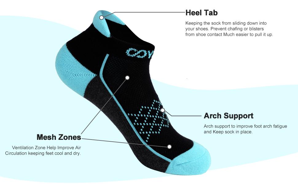 women athletic socks