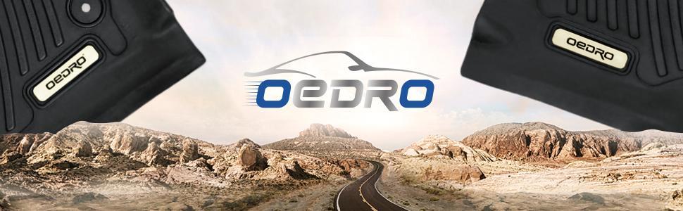 oedro floor mats floor liner cargo mats LOGO