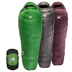 Hyke & Byke Katahdin Synthetic Sleeping Bags