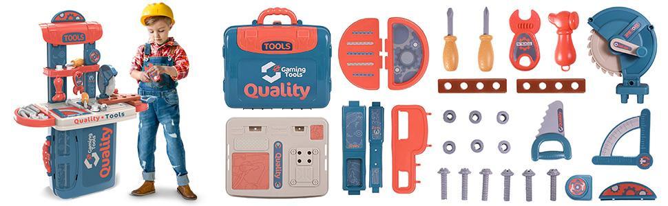Kids Toddler Tool Toy Set