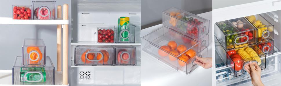 refrigerator storage drawers 3