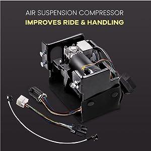 Air compressor for Cadillac Escalade