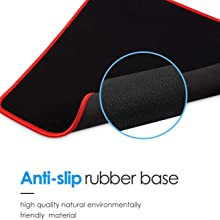Gaming Mouse Pad XXL, Extended Large Desk mat