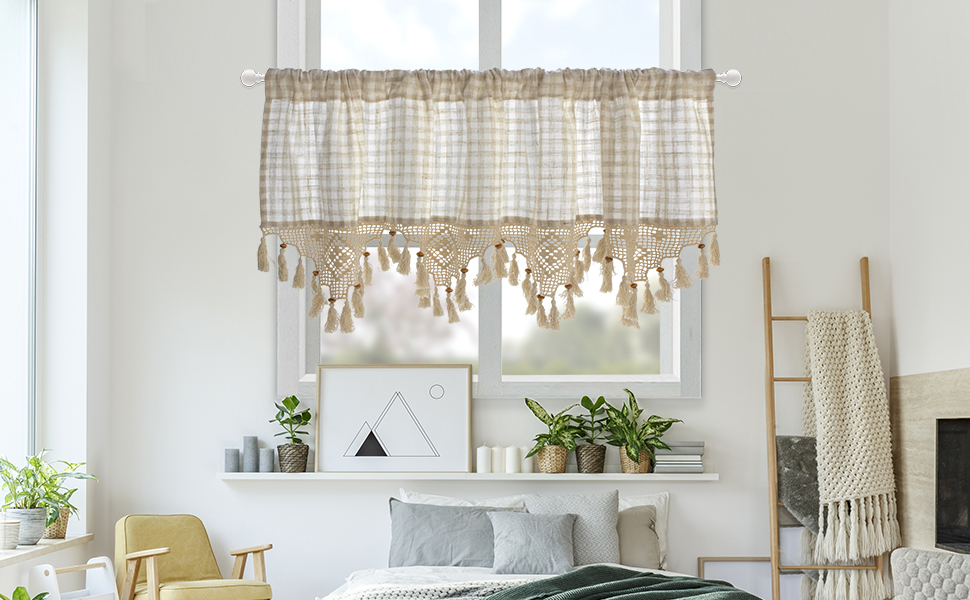 the pastoral valance used in living room