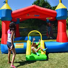 bounce castle slide