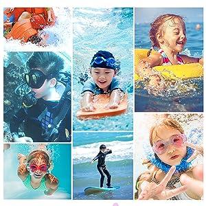Children's diving suit suitable for multiple scenes