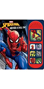 Marvel Spider-man - Never a Dull Day Sound Book
