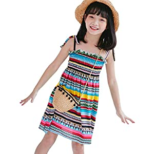 rainbow beach wear dress