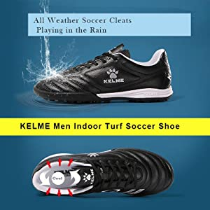 Kelme Men Kids Soccer Turf Shoes