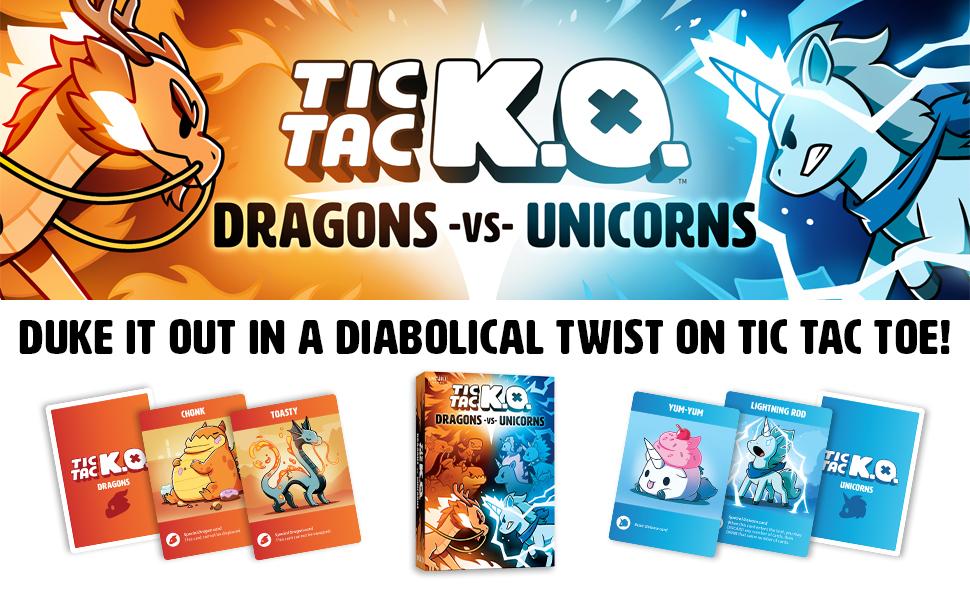 TTKO Dragons vs. Unicorns