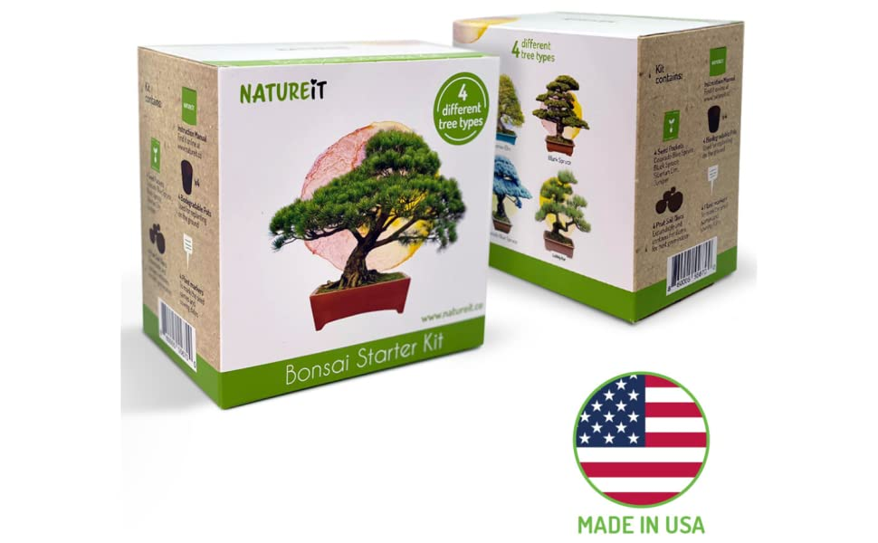 natureit bonsai kit made in USA