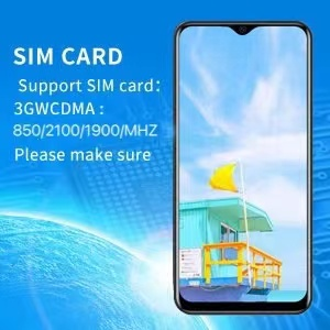 support sim card:3GCDMA850/2100/1900MHZ