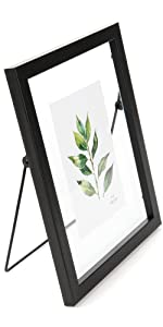 8x10 glass matel picture frame