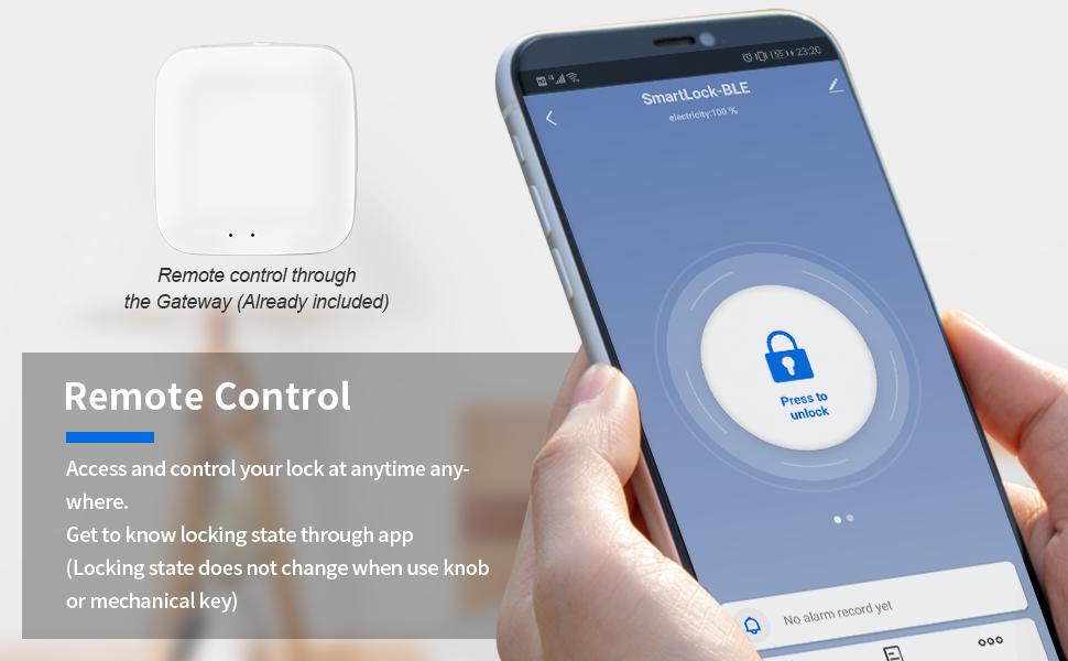 Remote Control your Smart Lock