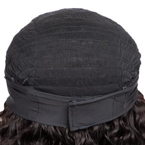 headband deep wave human hair wig headband wig deep wave curly human hair wig none lace front wig