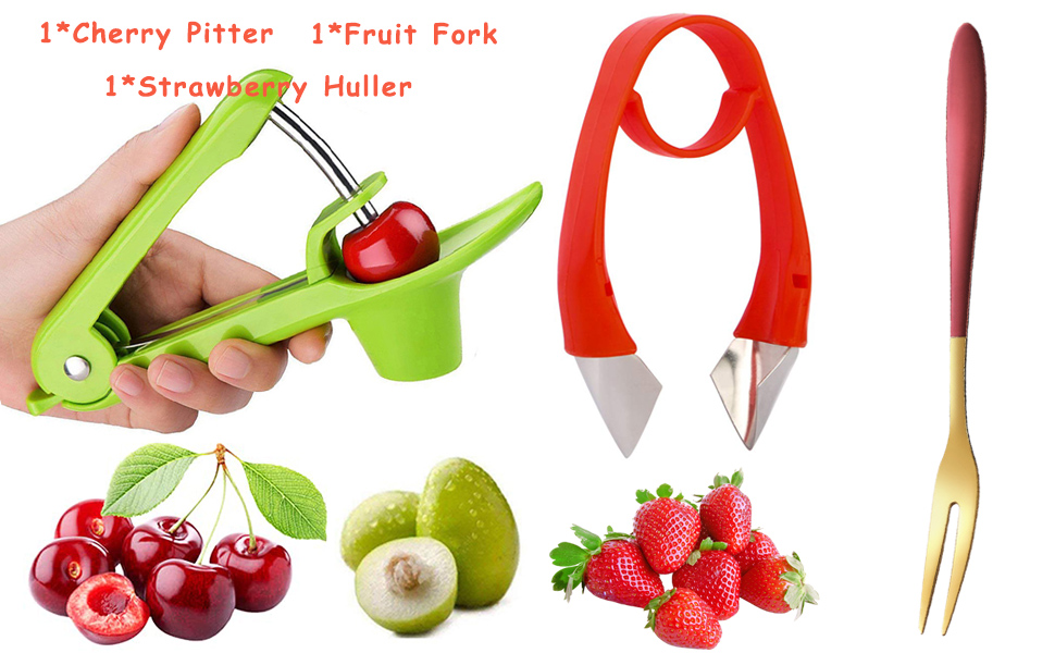 strawberry peeler pitter cherry pitter for making cherry dishes pie Jam cocktail