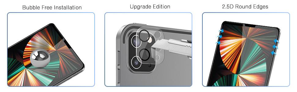 ipad pro 12.9 screen protector 5th generation