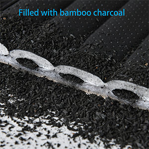 Filled with Bamboo Charcoal