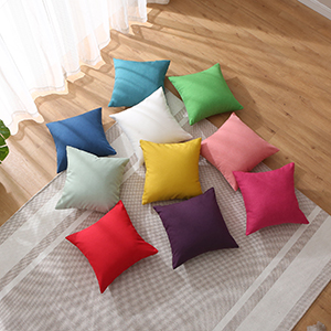 waterproof throw pillow