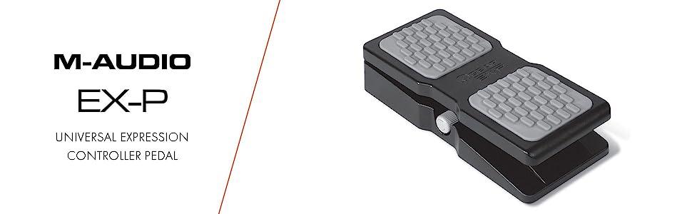 M-AUDIO EX-P universal expression controller pedal