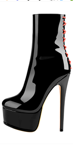 stiletto platform heel