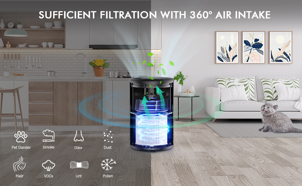 small air purifier for pet