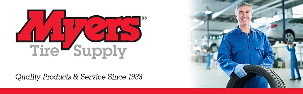 Myers Tire Supply, quality products and service since 1933