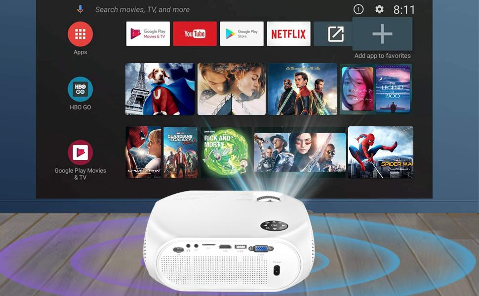 wifi movie projector
