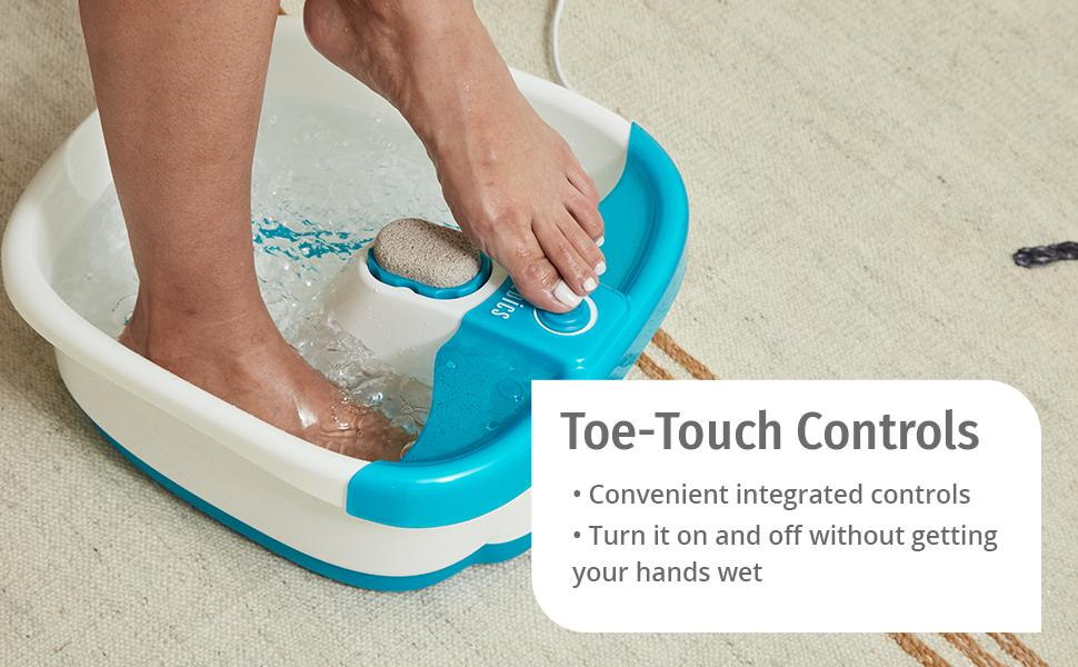 Bubble Mate Foot Spa Toe Touch Control