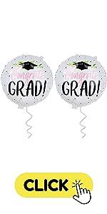 Congrats Grad Mylar Balloons